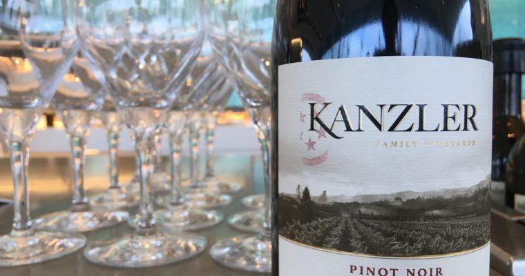 北カリフォルニアで評判のピノ・ノワール Kanzler Pinot Noir 2014