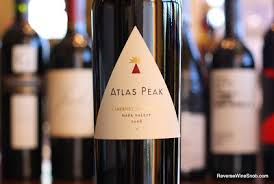 北カリフォルニア・ナパの高地でできた赤ワイン Atlas Peak Cabernet Sauvignon