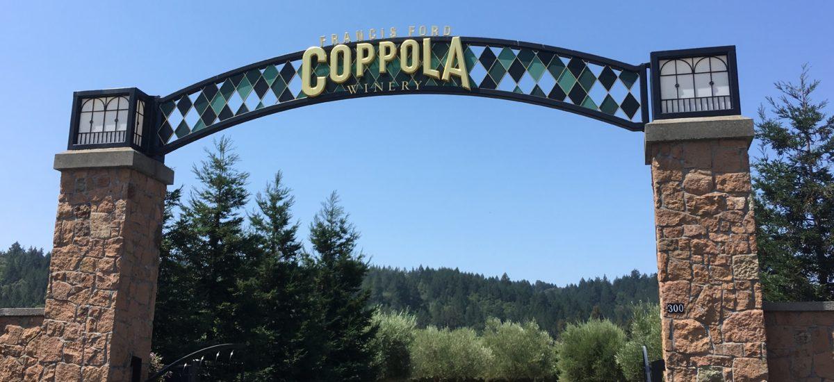 遊園地の様なワイナリー 北カリフォルニアのCoppola Winery