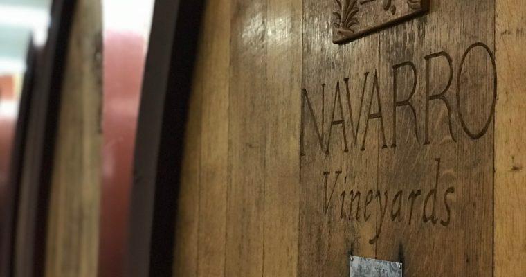北カリフォルニア・メンドシーノのパイオニア Navarro Vinyards & Winery