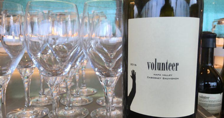 消防士のボランティアが作ったカリフォルニアワイン Volunteer Cabernet Sauvignon