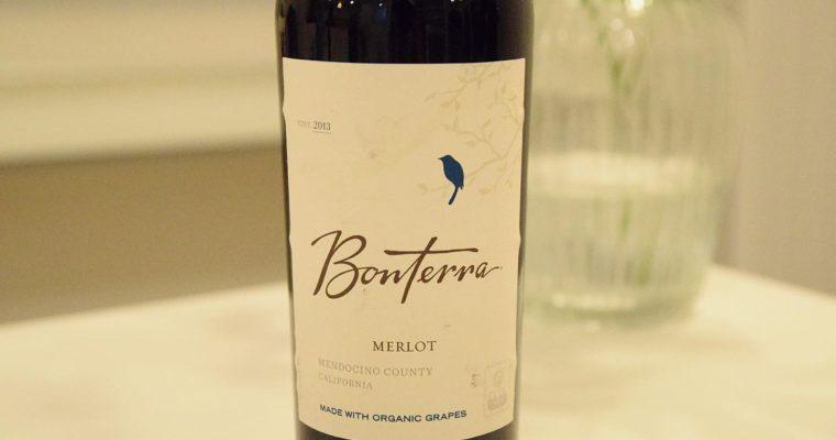米国で最も売れているオーガニックワイン 北カリフォルニアのBonterra Merlo 2015