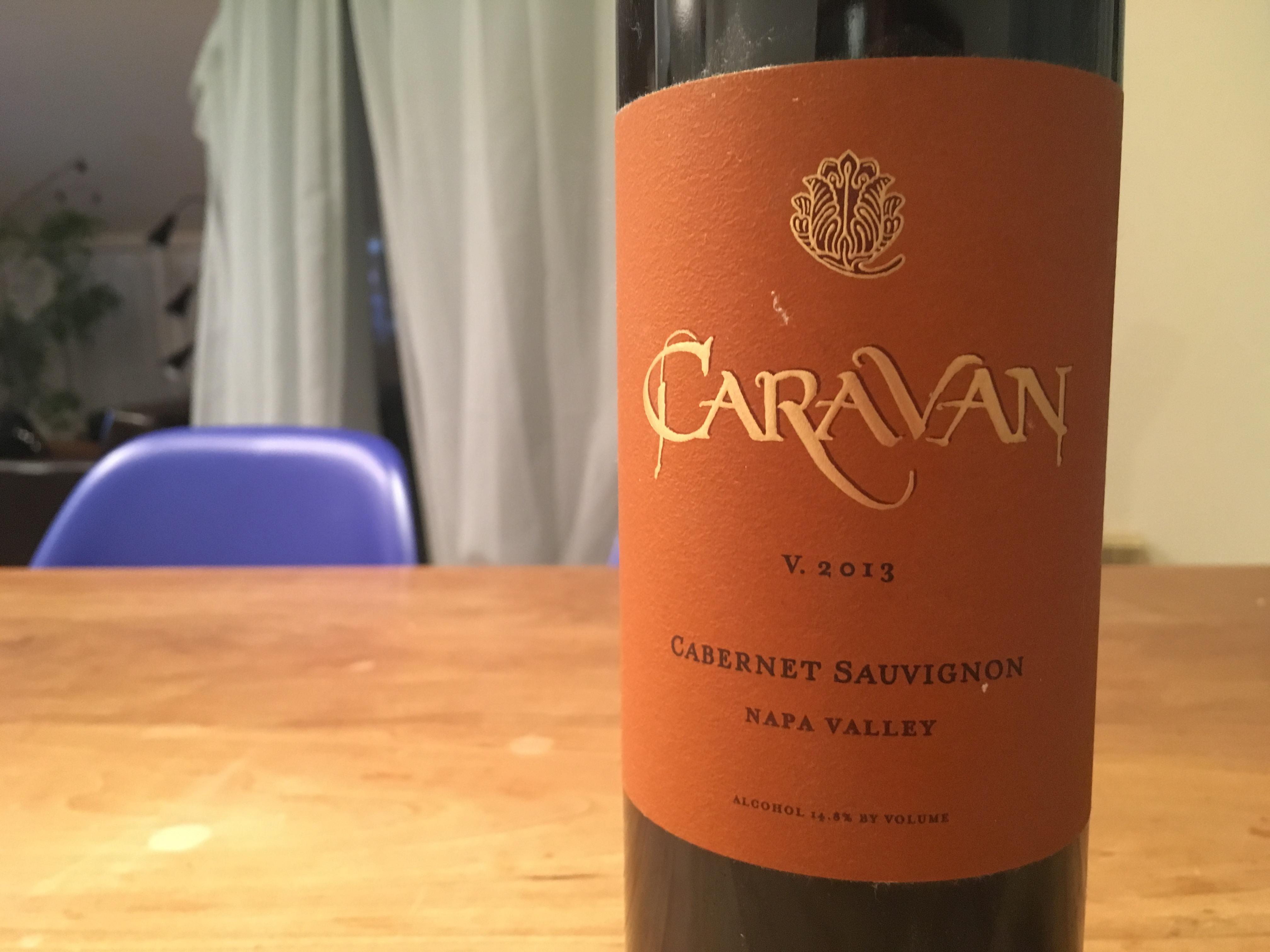 イランからカリフォルニアに移住したDarioushのセカンドワイン Caravan Cabernet Sauvigonon 2013