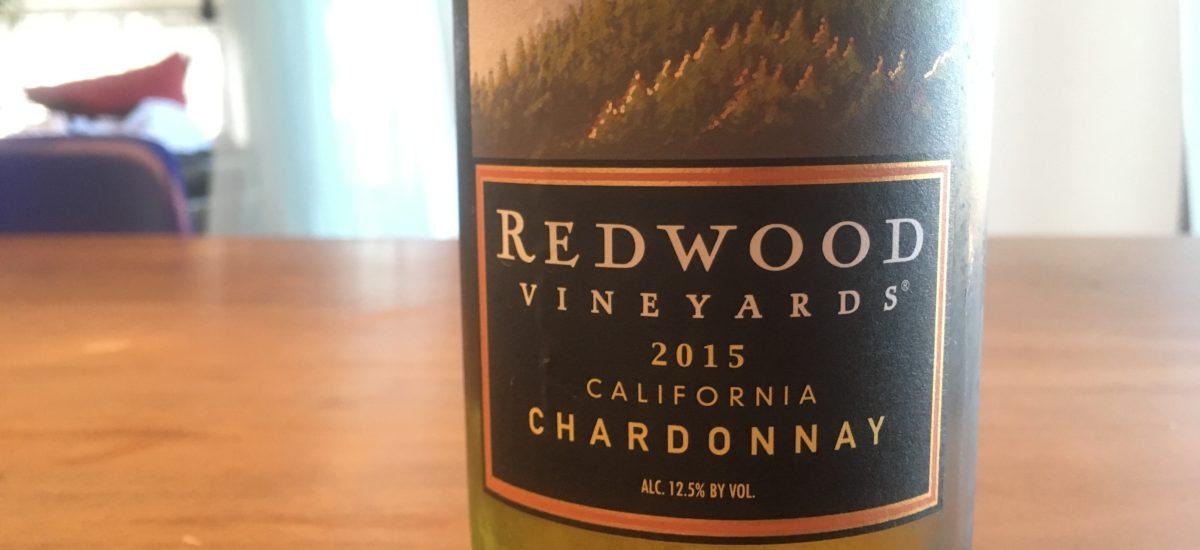 家飲み用にぴったりなカリフォルニアワイン Redwood Vineyards Chardonnay