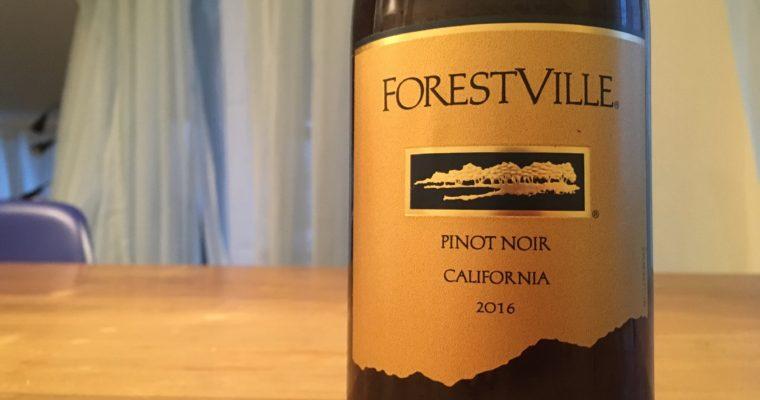カリフォルニアのピノ・ノワール 家飲み用にオススメ Forest Ville