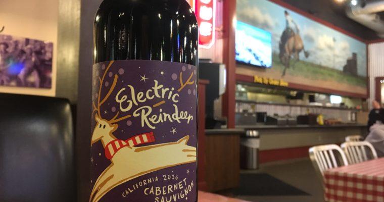 クリスマスの売れ残り カリフォルニアワイン Electronic Raindeer
