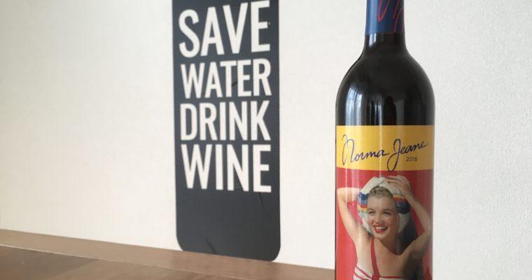 マリリンモンローのラベルが衝撃的 南カリフォルニアワイン Norma Jeane