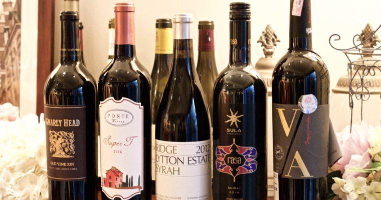 カリフォルニアワインとインドワインを楽しむ会を開催しました。