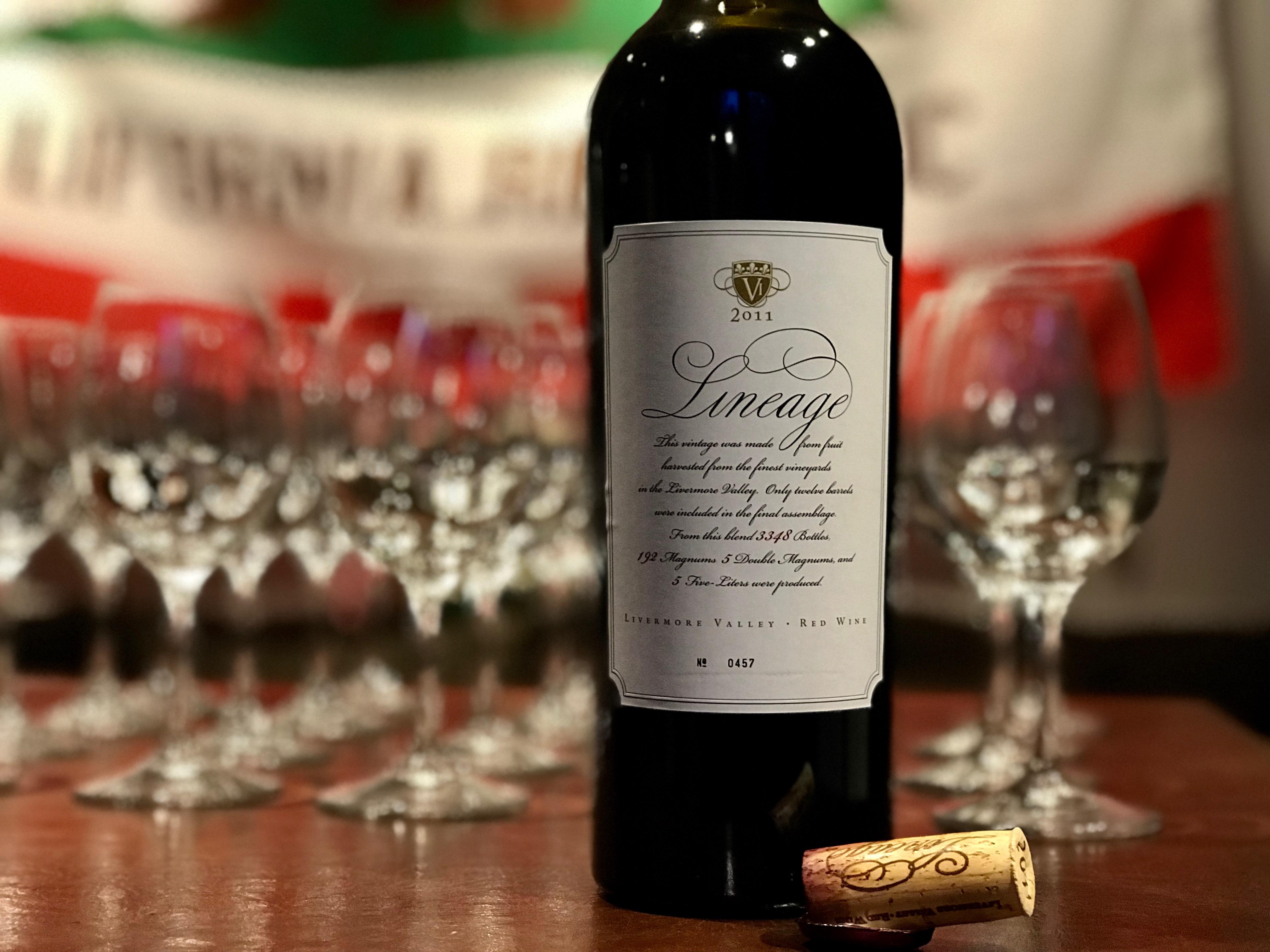 カリフォルニア・リヴァモアのワインを楽しむ会を開催しました。