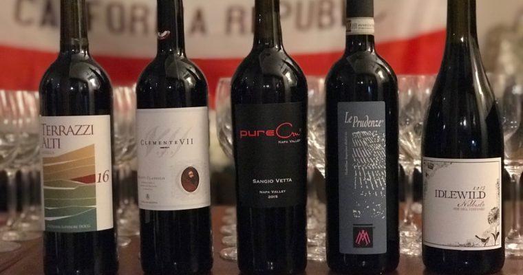 「カリフォルニアワインとイタリアワインの飲み比べ 第3回」を開催しました。