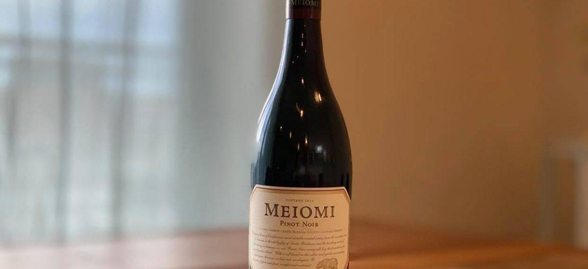 カリフォルニア3大産地のピノノワールを使ったMeiomi
