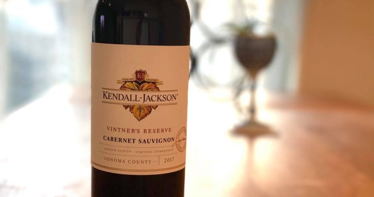 カリフォルニアの定番 Kendall Jackson Vintner's Reserve カベルネ・ソーヴィニヨン