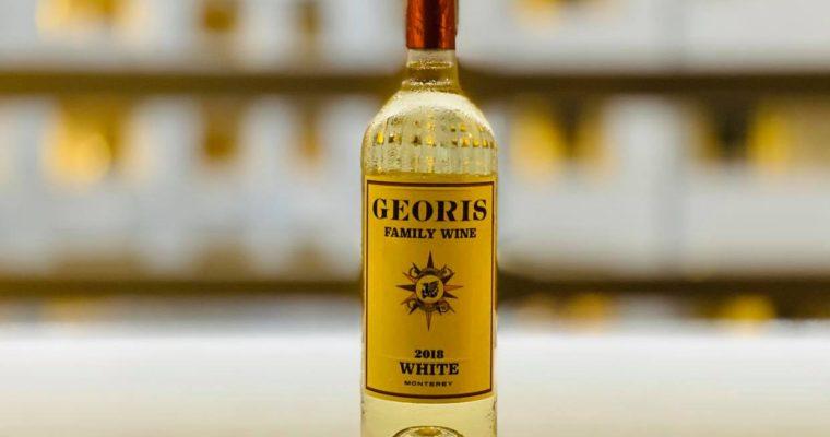カリフォルニアGeoris Wineryの家族用特別白ワイン