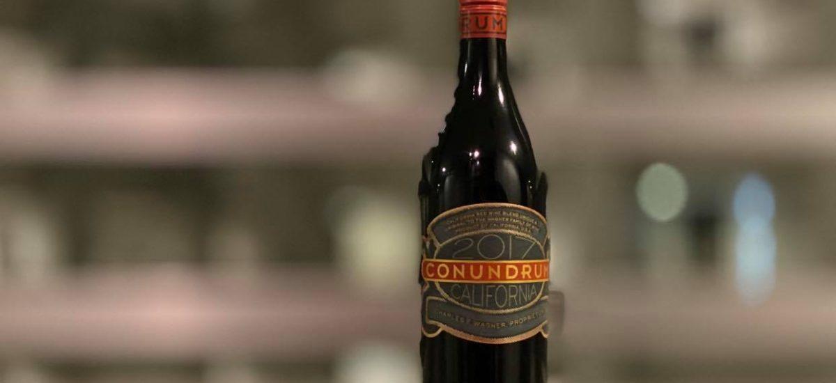 謎に満ちたカリフォルニアワイン Conundrum Red